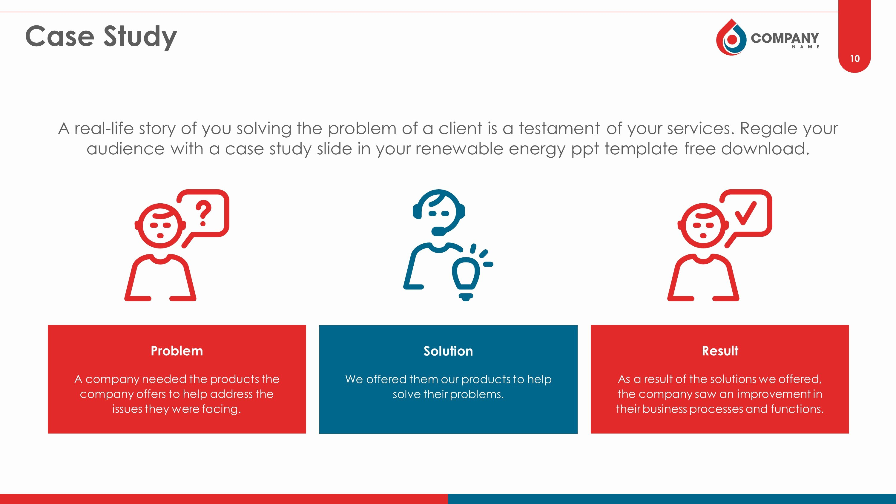 Case Study Template Ppt Fresh Oil and Gas Premium Powerpoint Template Slidestore