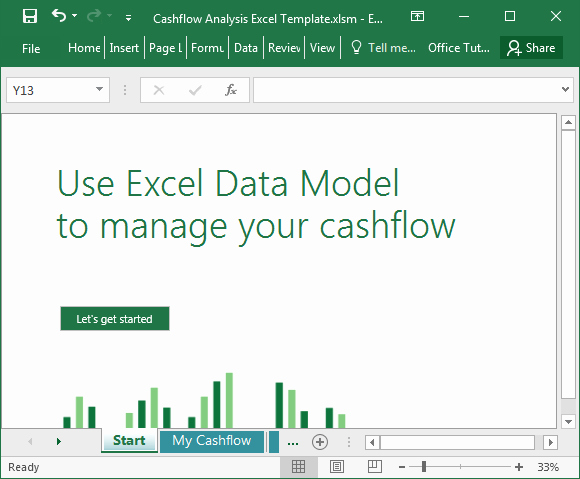 Cash Flow Analysis Template Best Of Cashflow Analysis Excel Template