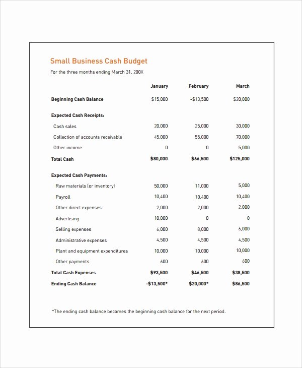 Cash Flow Budget Template Elegant Sample Bud Template 24 Free Documents Download In