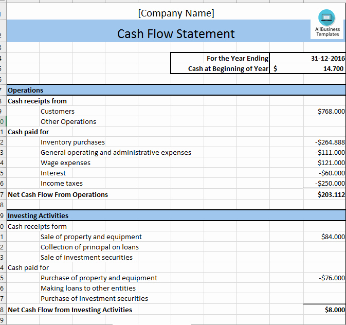 Cash Flow Excel Template New Free Sme Cash Flow Excel Template