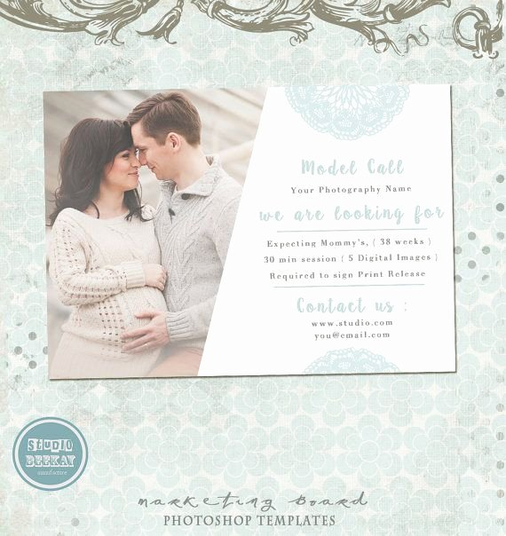Casting Call Flyer Template Awesome Model Call Template Photography Casting Call Maternity