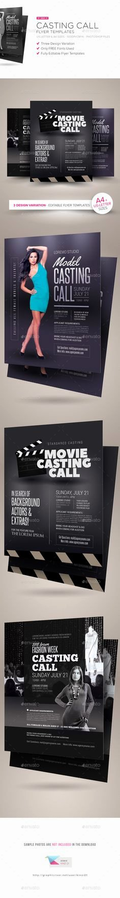 Casting Call Flyer Template Beautiful Multiple Birthday Bash Flyer Template