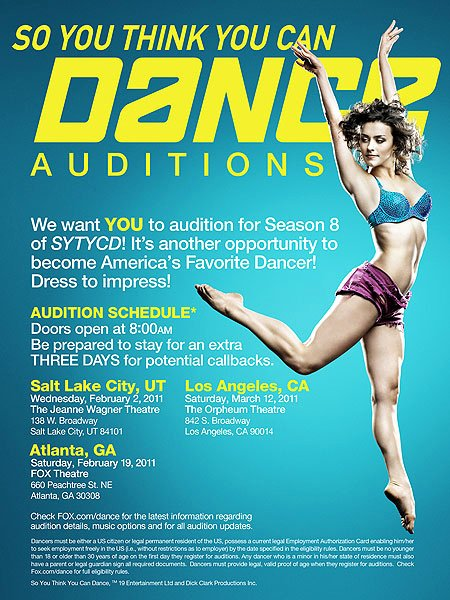 Casting Call Flyer Template Elegant Dance Audition Flyer Entown Posters