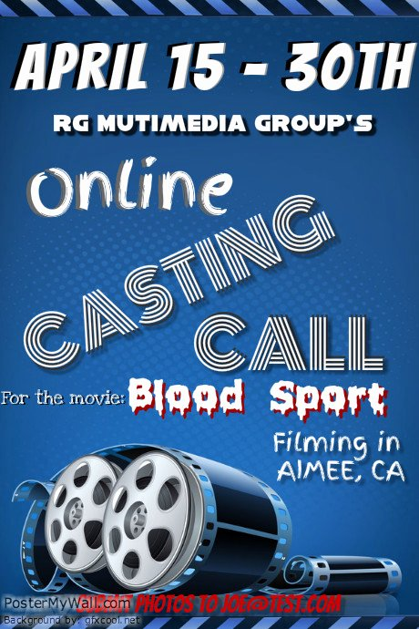 Casting Call Flyer Template Fresh theatre and Poster Templates