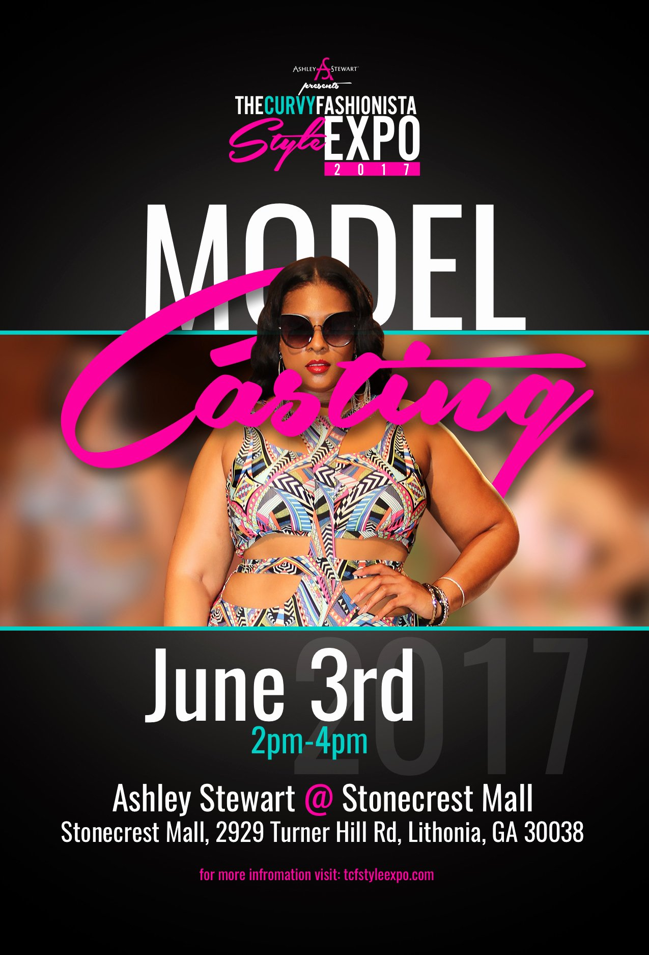 tcfstyle expo model casting call