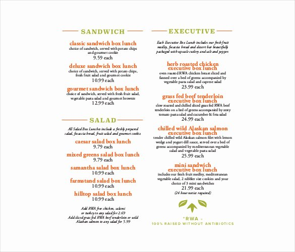 Catering Menu Template Free Luxury 23 Catering Menu Templates Ai Psd Google Docs Apple