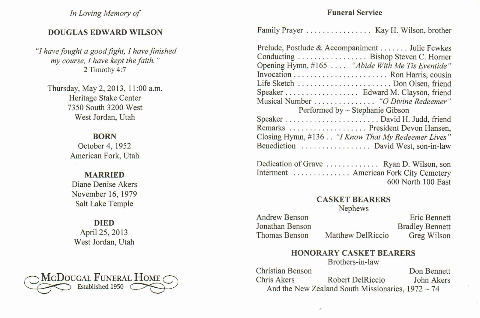 Catholic Funeral Program Template Best Of Catholic Funeral Program Free Download Aashe