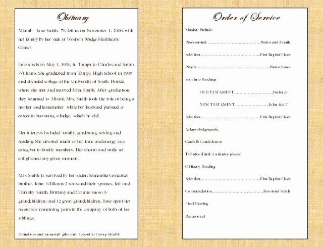 Catholic Funeral Program Template Elegant Catholic Funeral Program Free Download Aashe