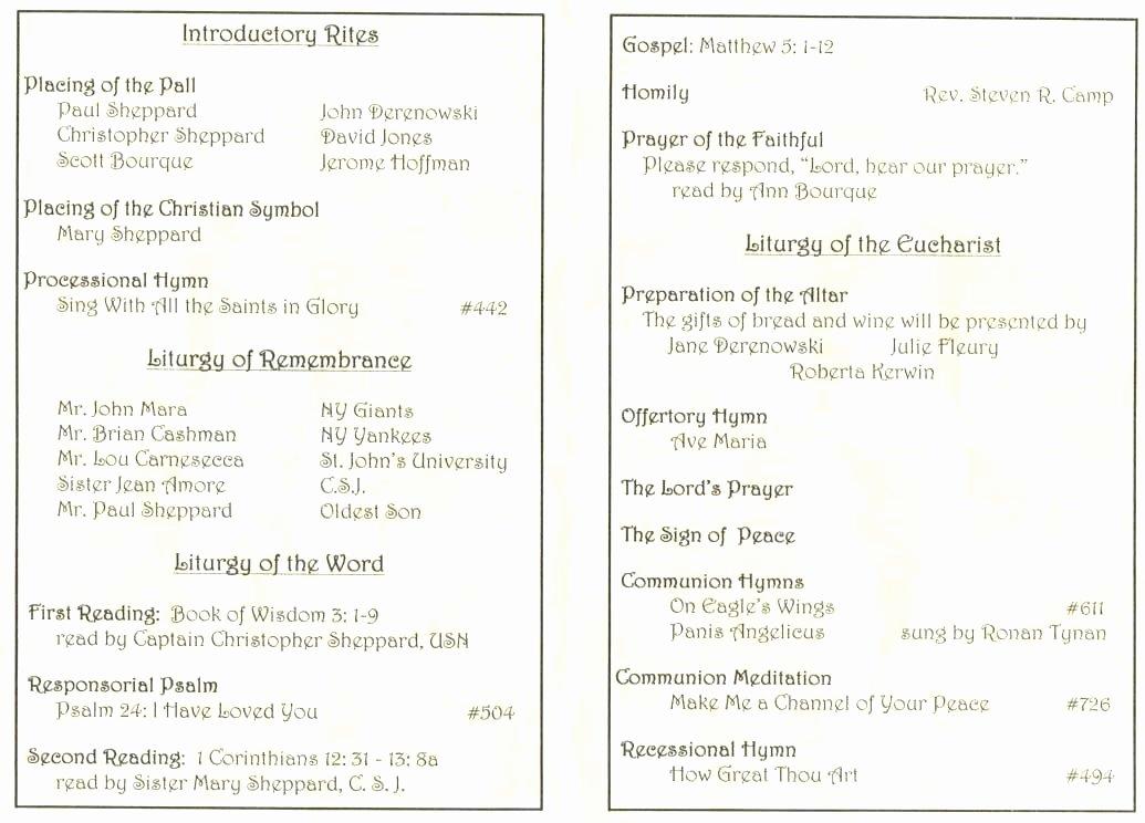 mass program template catholic funeral program template funeral mass template sample catholic funeral program documents in funeral mass program template