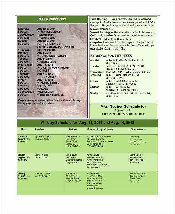 Catholic Funeral Program Template Unique 13 Sample Catholic Funeral Program Templates