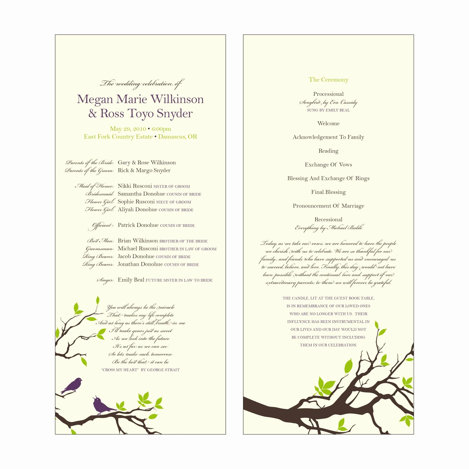 Catholic Mass Program Template Best Of Catholic Wedding Program Template