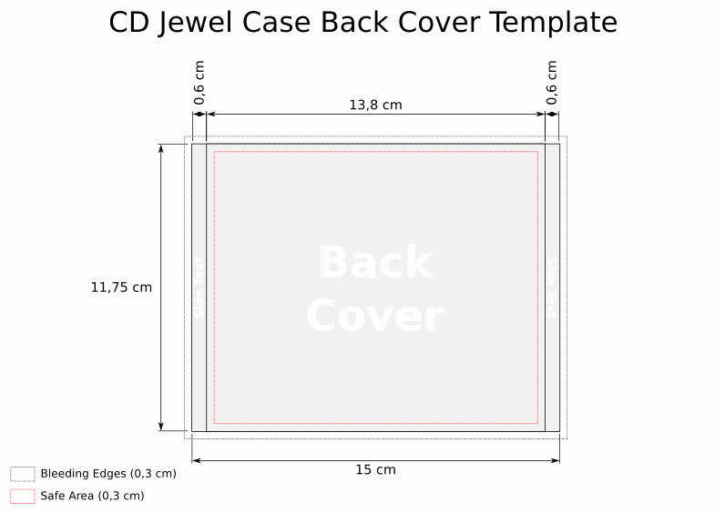 Cd Case Insert Template Elegant Cd Jewel Case Template