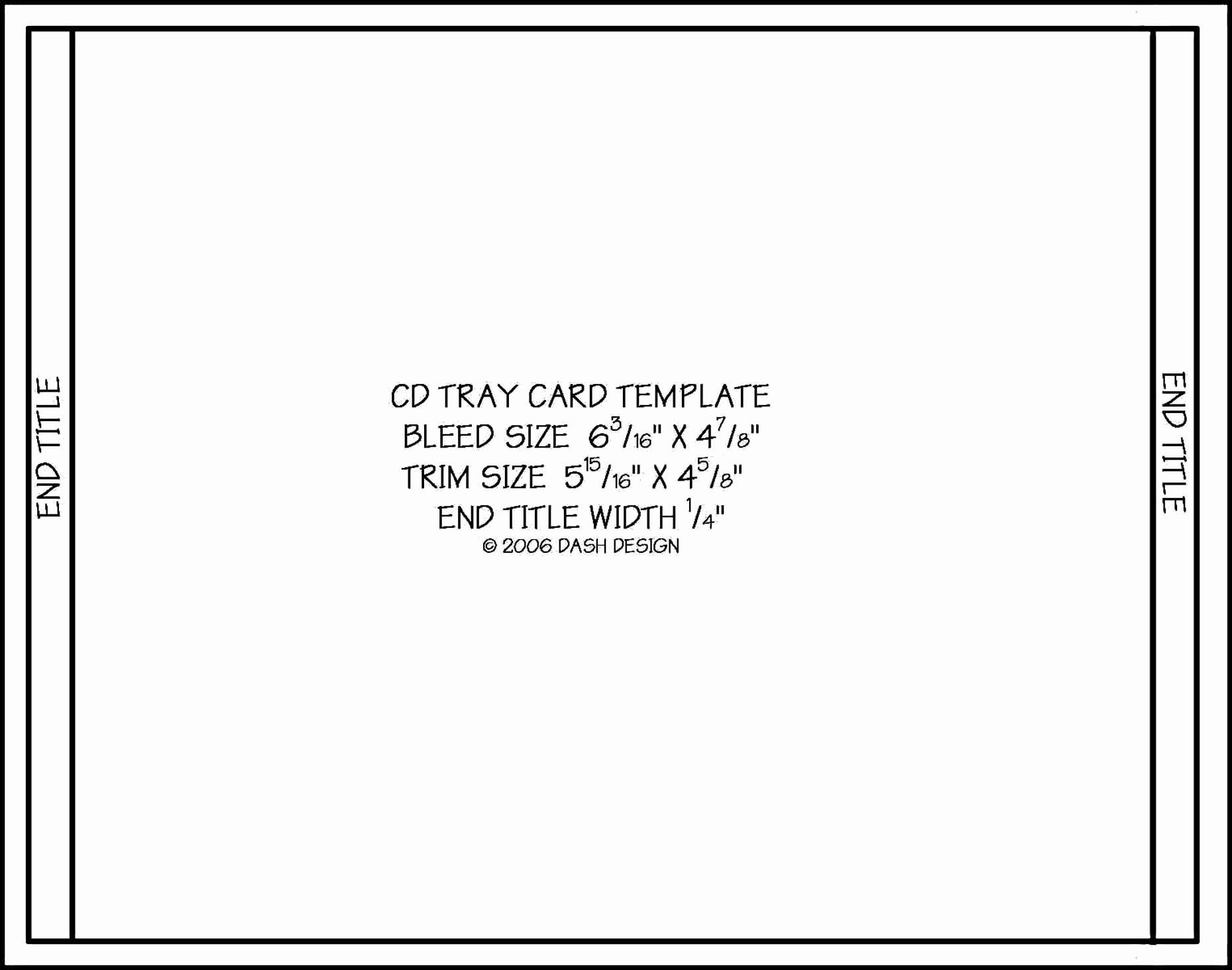 Cd Case Insert Template Fresh Cd Jewel Case Template