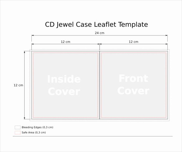 Cd Case Insert Template New Jewel Case Templates 11 Free Word Pdf Psd Eps