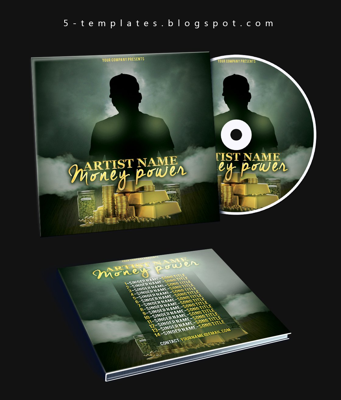 Cd Cover Template Photoshop Elegant the Power Mixtape Cd Cover Free Psd Template by Klarensm