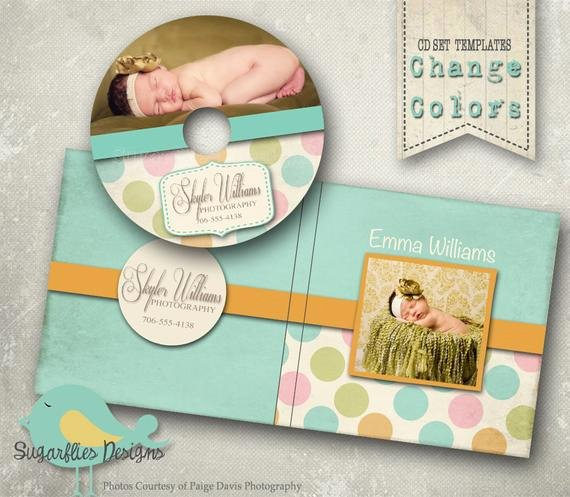 Cd Cover Template Photoshop New Cd Dvd Label Photoshop Template Dvd Case & Label Polkadots