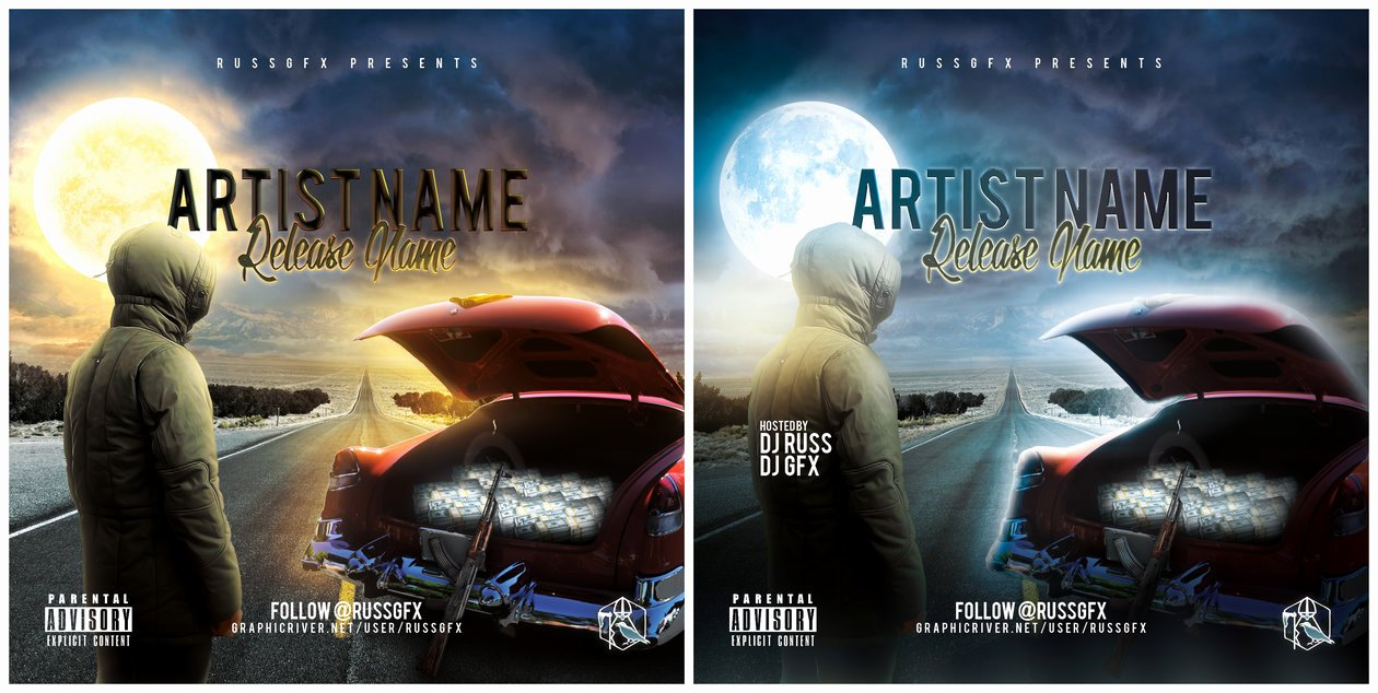 Cd Cover Template Psd Best Of the Road Psd Cd Cover Template Free Download by Russgfx