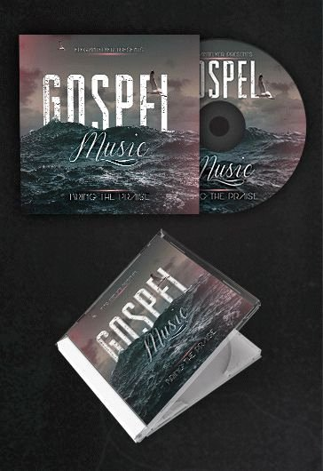 Cd Cover Template Psd Fresh Gospel Music – Free Cd Cover Psd Template – by Elegantflyer
