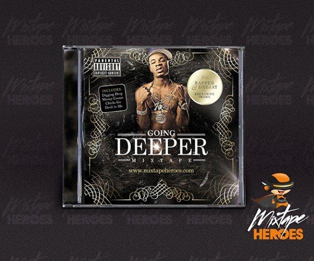 Cd Cover Template Psd Inspirational Hip Hop Rap Cd Cover Template