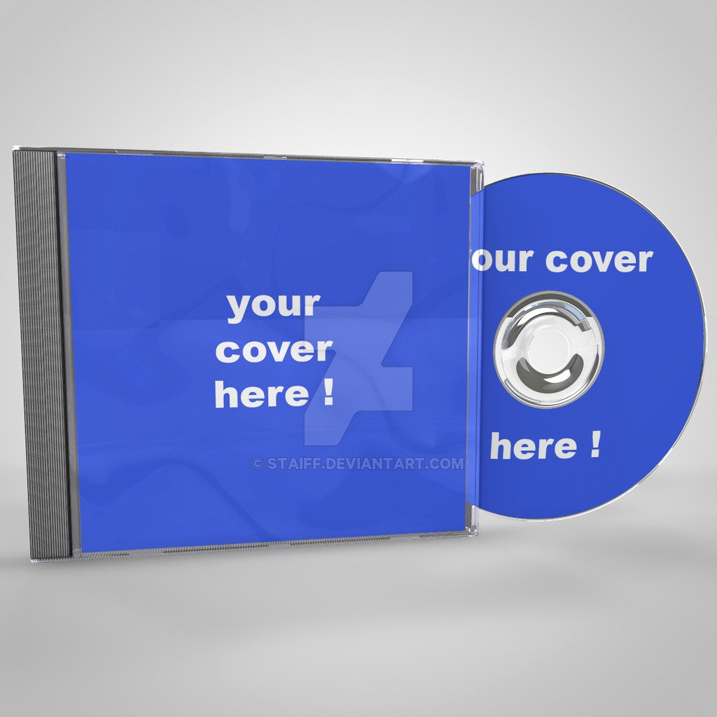 Cd Cover Template Psd New Audio Cd Case Psd Template Mockup by Staiff On Deviantart