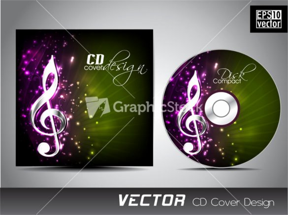 Cd Cover Template Psd Unique Cd Cover Template 51 Free Psd Eps Word format