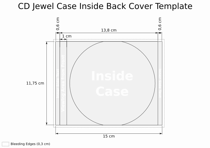 Cd Insert Template Word Beautiful Cd Templates for Jewel Case In Svg