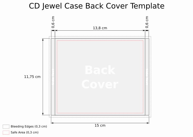 Cd Insert Template Word Elegant Cd Template Jewel Case Back
