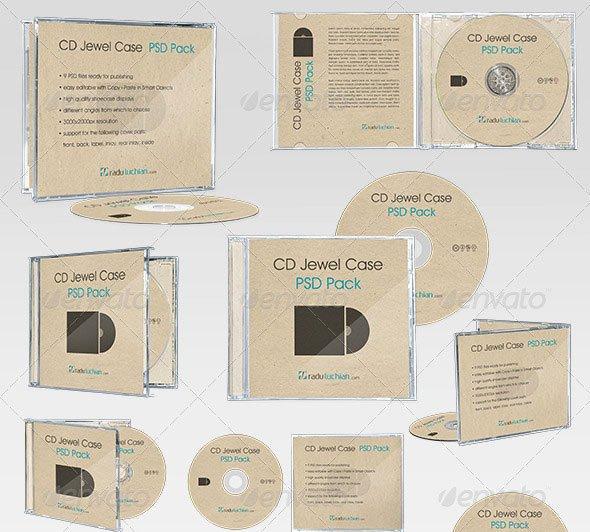 Cd Jewel Case Template Luxury 25 Best Premium Psd Cd Dvd Cover Mockup Templates