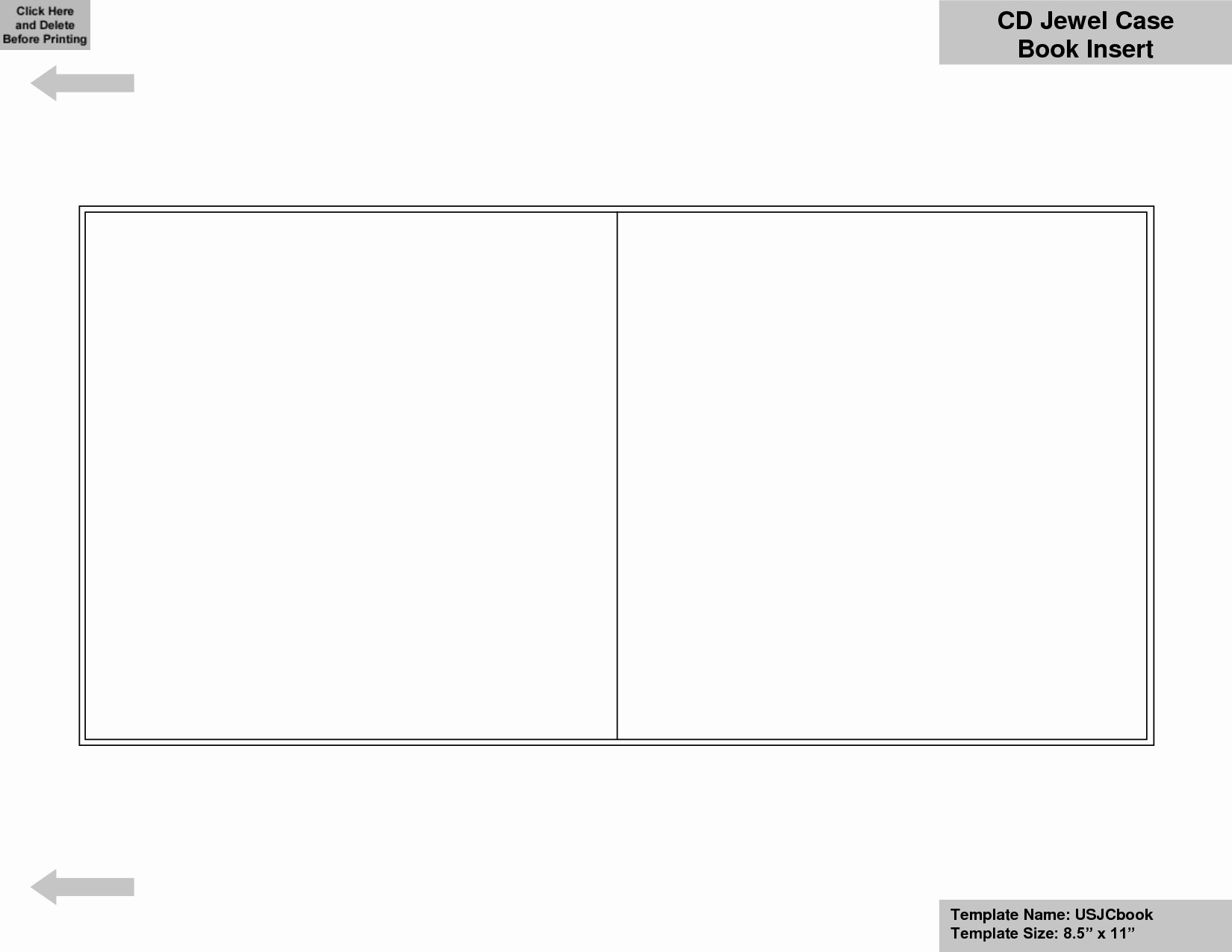 Cd Jewel Case Template New Blank Cd Insert Template Templates Resume Examples