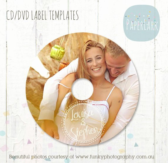 Cd Label Template Photoshop Awesome Cd Dvd Label Photoshop Template Es003 Instant Download