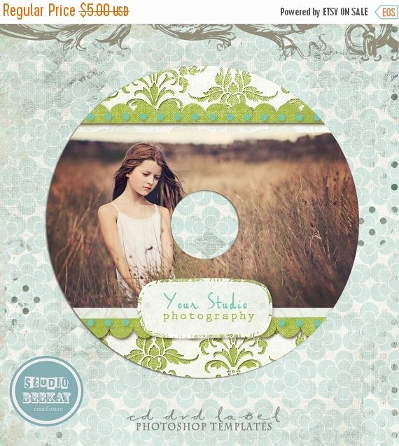 Cd Label Template Photoshop Elegant On Sale Cd Dvd Label Photoshop Template by Studiobeekay On