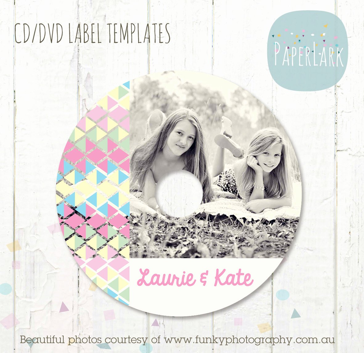 Cd Label Template Photoshop Unique Cd Dvd Label Photoshop Template Es004 Instant Download