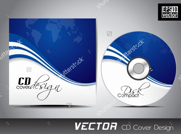 Cd Label Template Psd Inspirational Cd Label Template – 22 Free Psd Eps Ai Illustrator