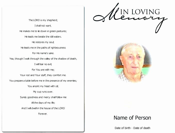 Celebration Of Life Template Fresh Celebration Life Invitation Template Memorial Service