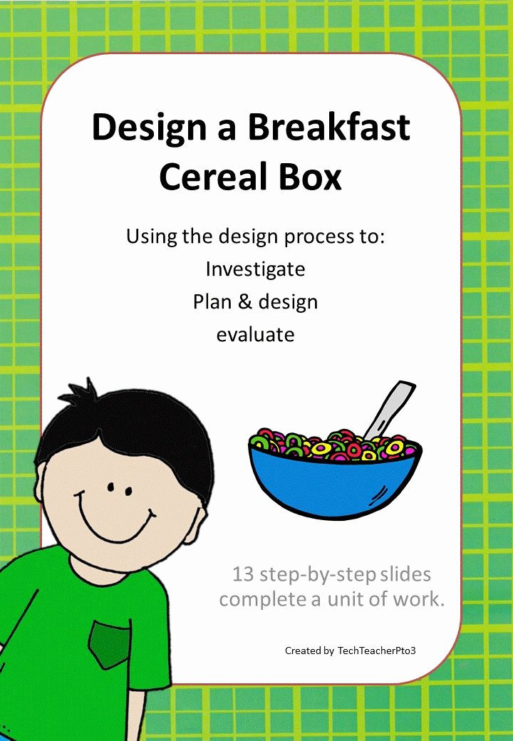 Cereal Box Design Template Lovely Design A Cereal Box A Step by Step Process with Free Mini