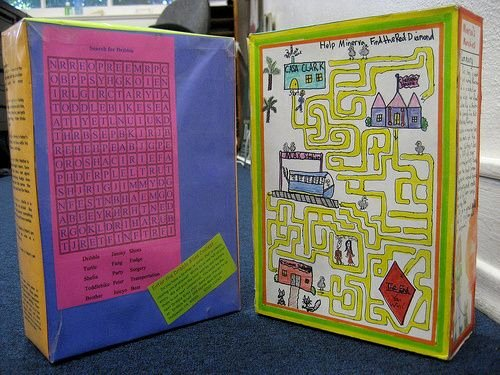 Cereal Box Project Template Lovely Cereal Box Project Examples School Projects