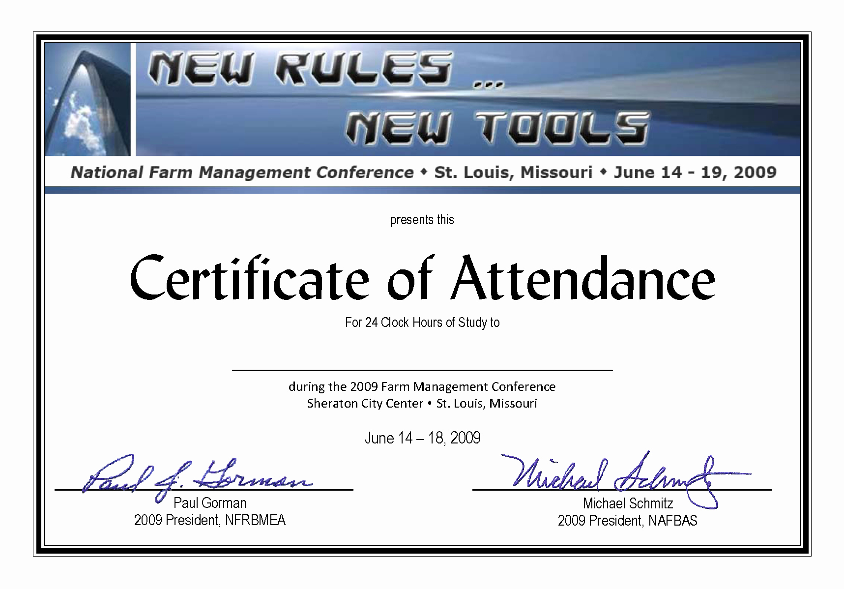 Certificate Of attendance Template Beautiful Certificate Of attendance Templates