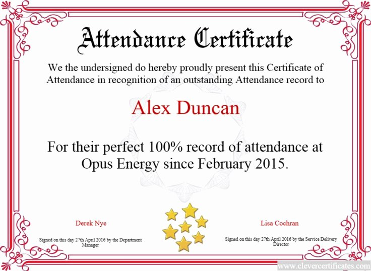 Certificate Of attendance Template Inspirational 14 Best Small Business Images On Pinterest