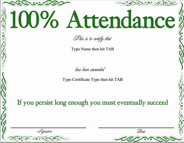 Certificate Of attendance Template Inspirational Certificate attendance Templates Downloads Dbfile