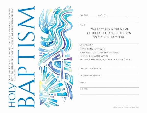 Certificate Of Baptism Template Elegant Baptism Certificate Google Search Baptism