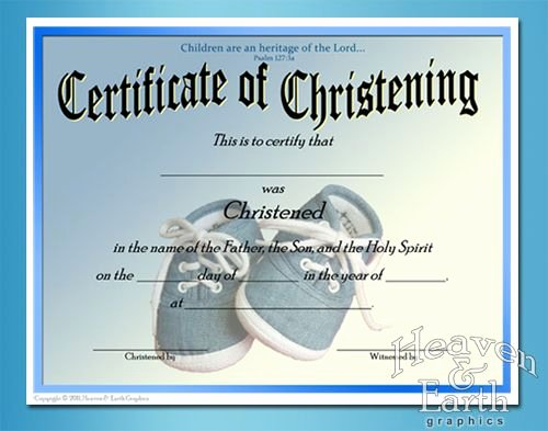 Certificate Of Baptism Template Fresh Baby Christening Certificate Template Free