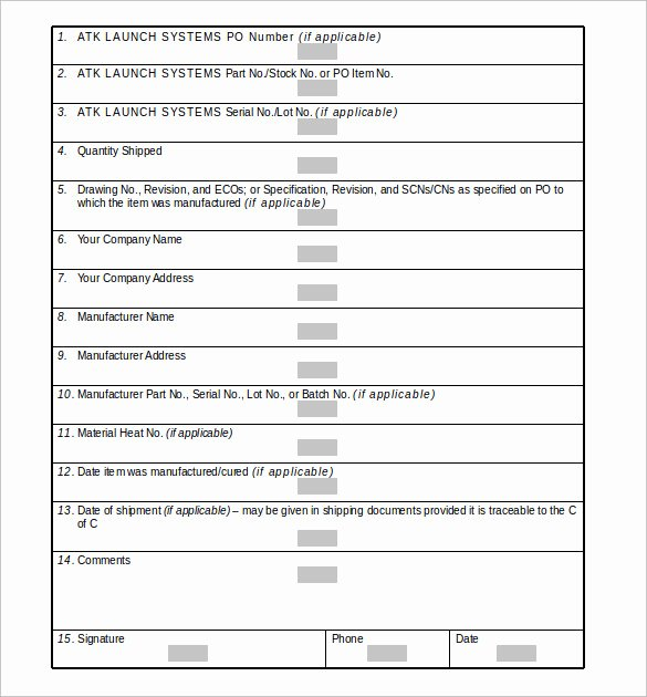 Certificate Of Conformity Template Awesome Sample Certificate Of Conformance 21 Documents In Pdf