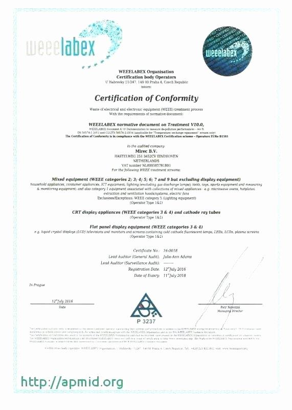 Certificate Of Destruction Template Inspirational Certificate Of Data Destruction Template – Obconline