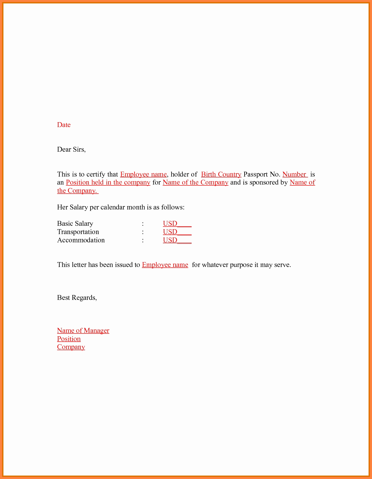 Certificate Of Employment Template Awesome 15 Certificate Of Employment Doc