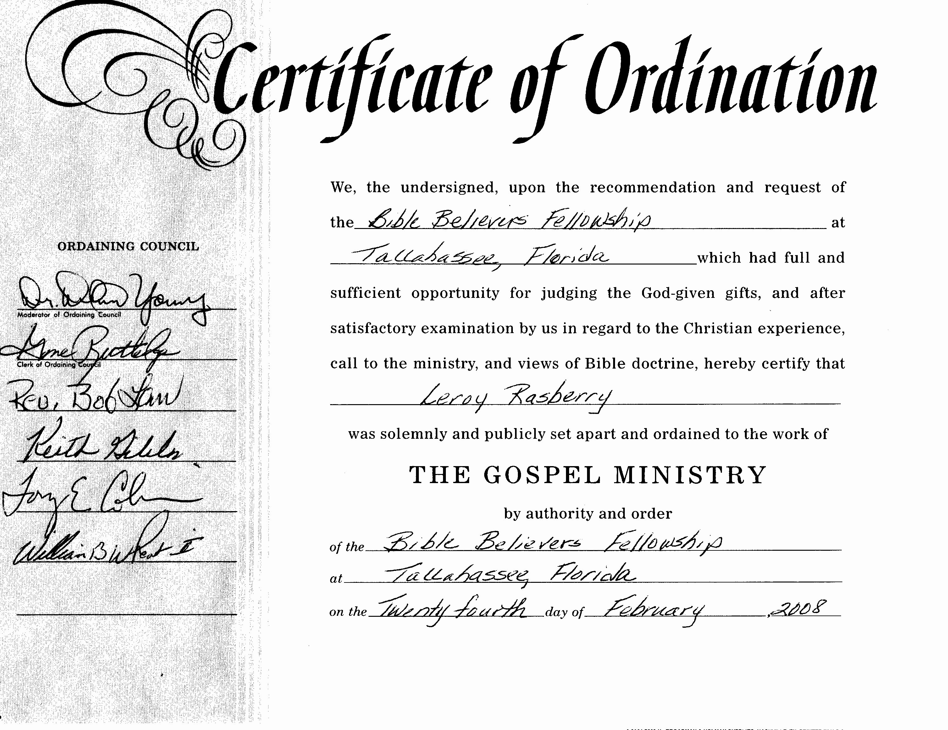 Certificate Of ordination Template Inspirational Best S Of ordination Papers Template Bishop
