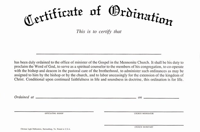 Certificate Of ordination Template New Taking the Week Off