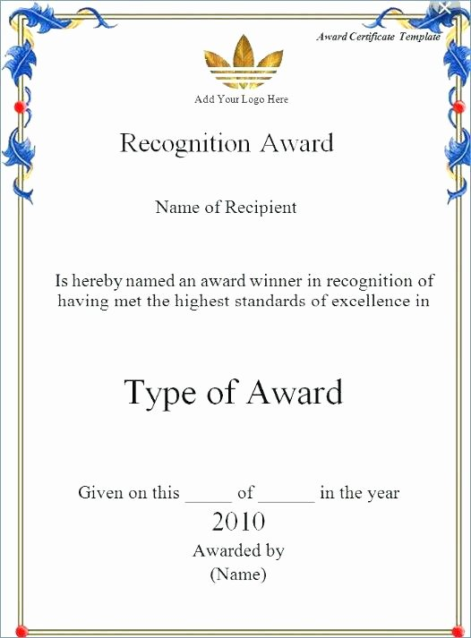 Certificate Template Google Docs Awesome Certificate Templates Stunning Google Docs Award Template