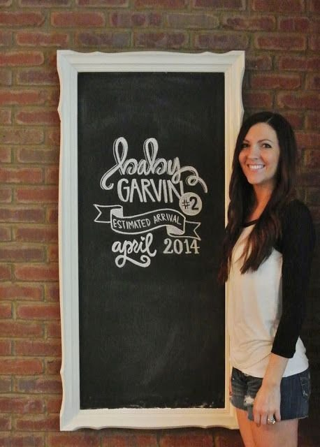 Chalkboard Baby Announcement Template New 1000 Expecting Baby Quotes On Pinterest