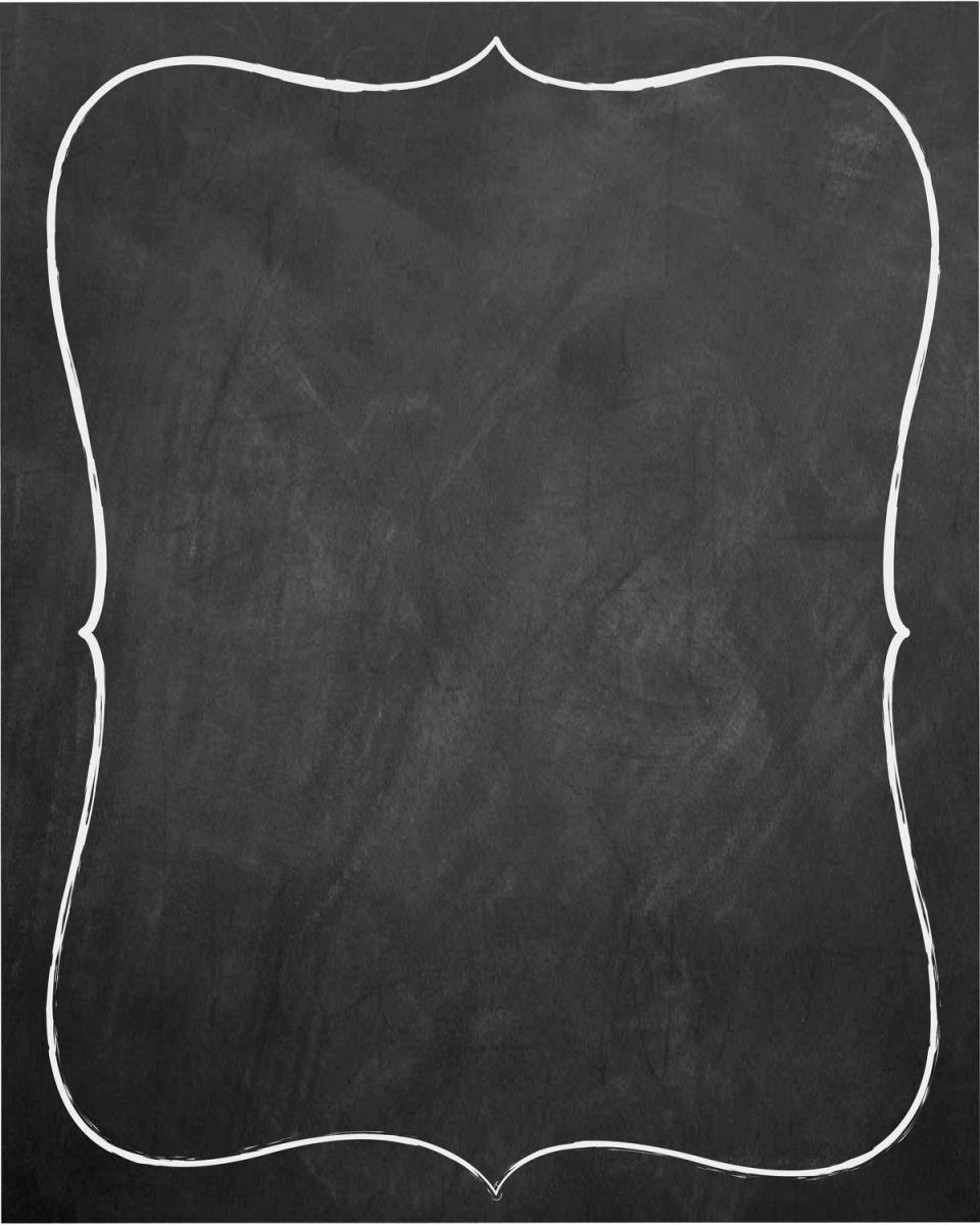 Chalkboard Invitation Template Free Elegant Chalkboard Invitation Template Blank Templates Resume