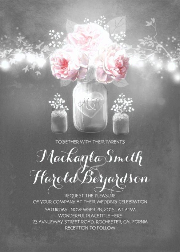 Chalkboard Invitation Template Free Fresh 26 Chalkboard Wedding Invitation Templates – Free Sample
